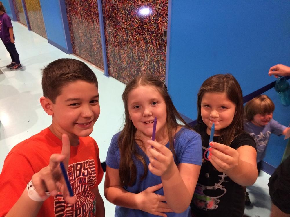 Crayola Experience Orlando, FL MELT & MOLD Crayon Selection