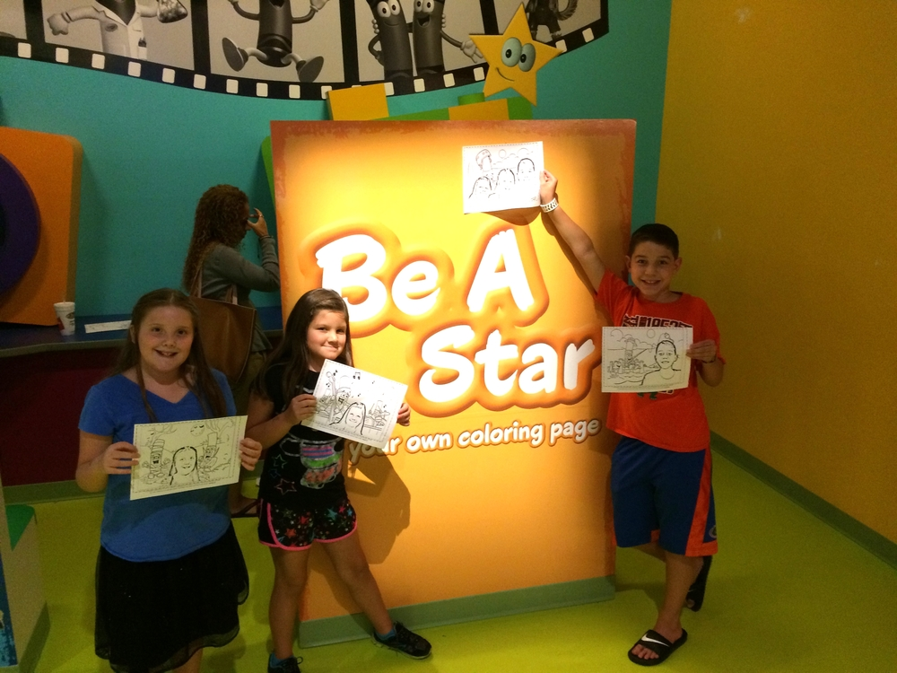 Crayola Experience Orlando, FL BE A STAR   our coloring pages