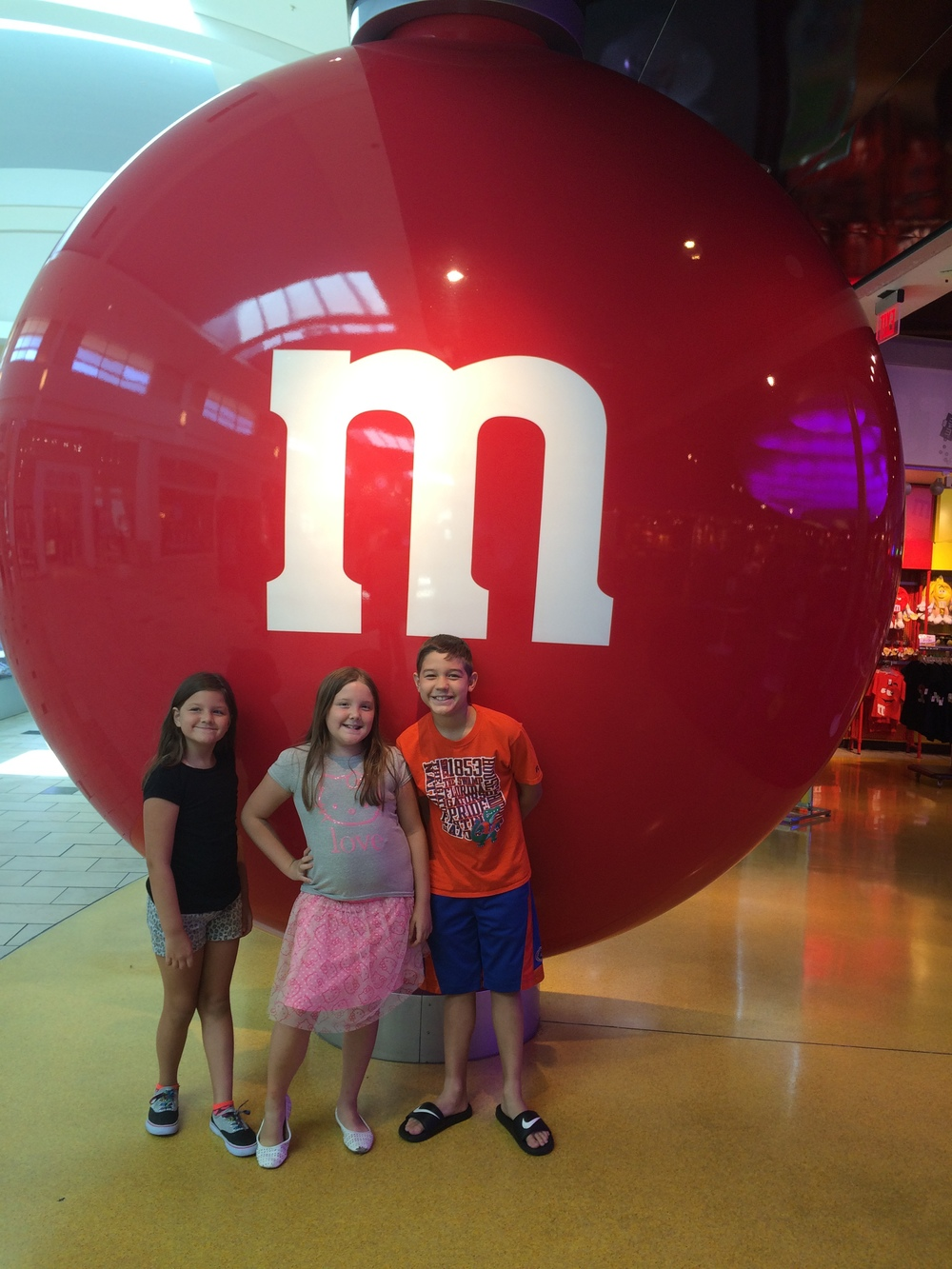 Giant Red M&M