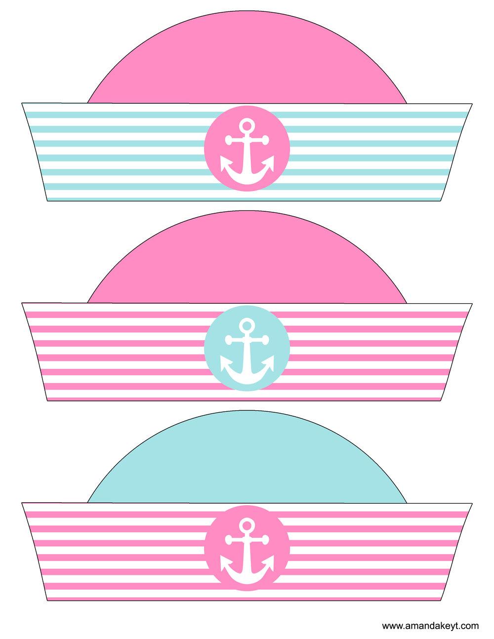 Baby Nautical Pink