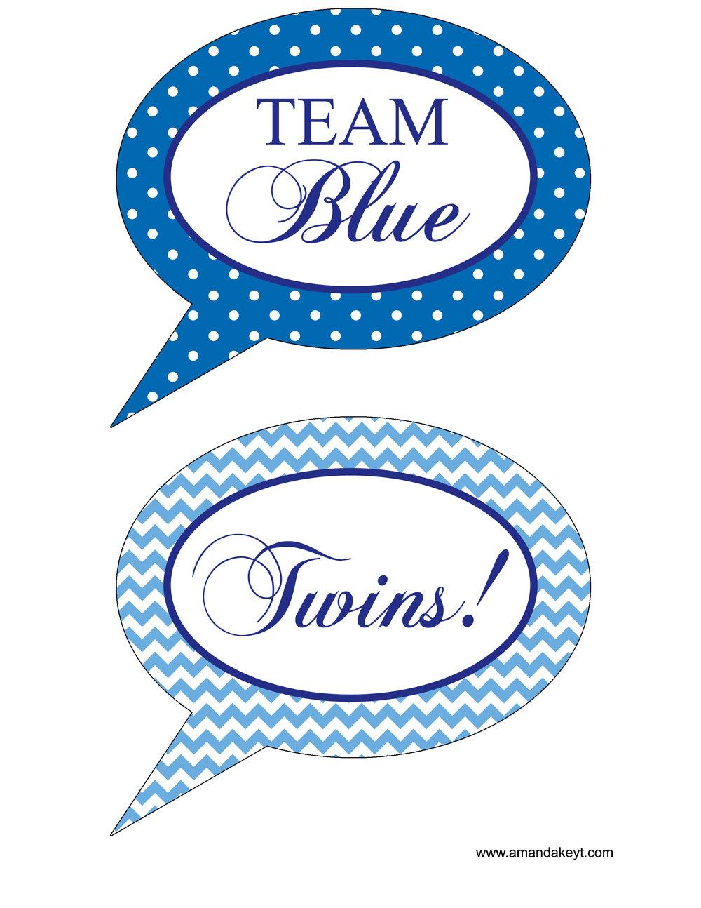 Blue Twins Set 2