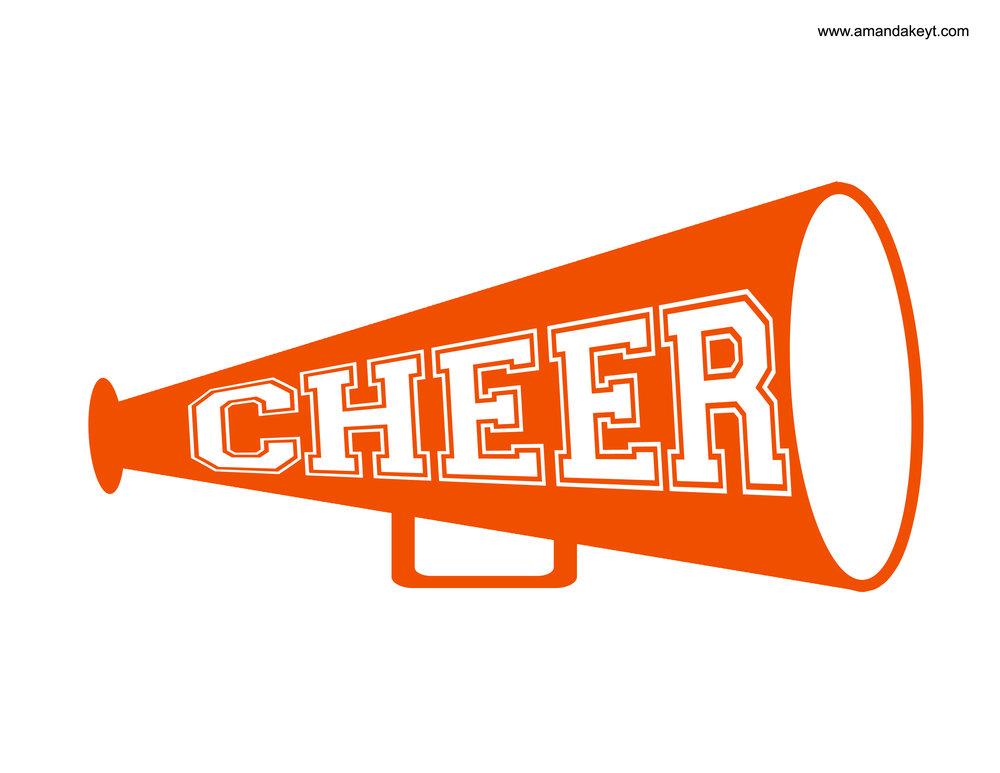 Orange Cheerleader