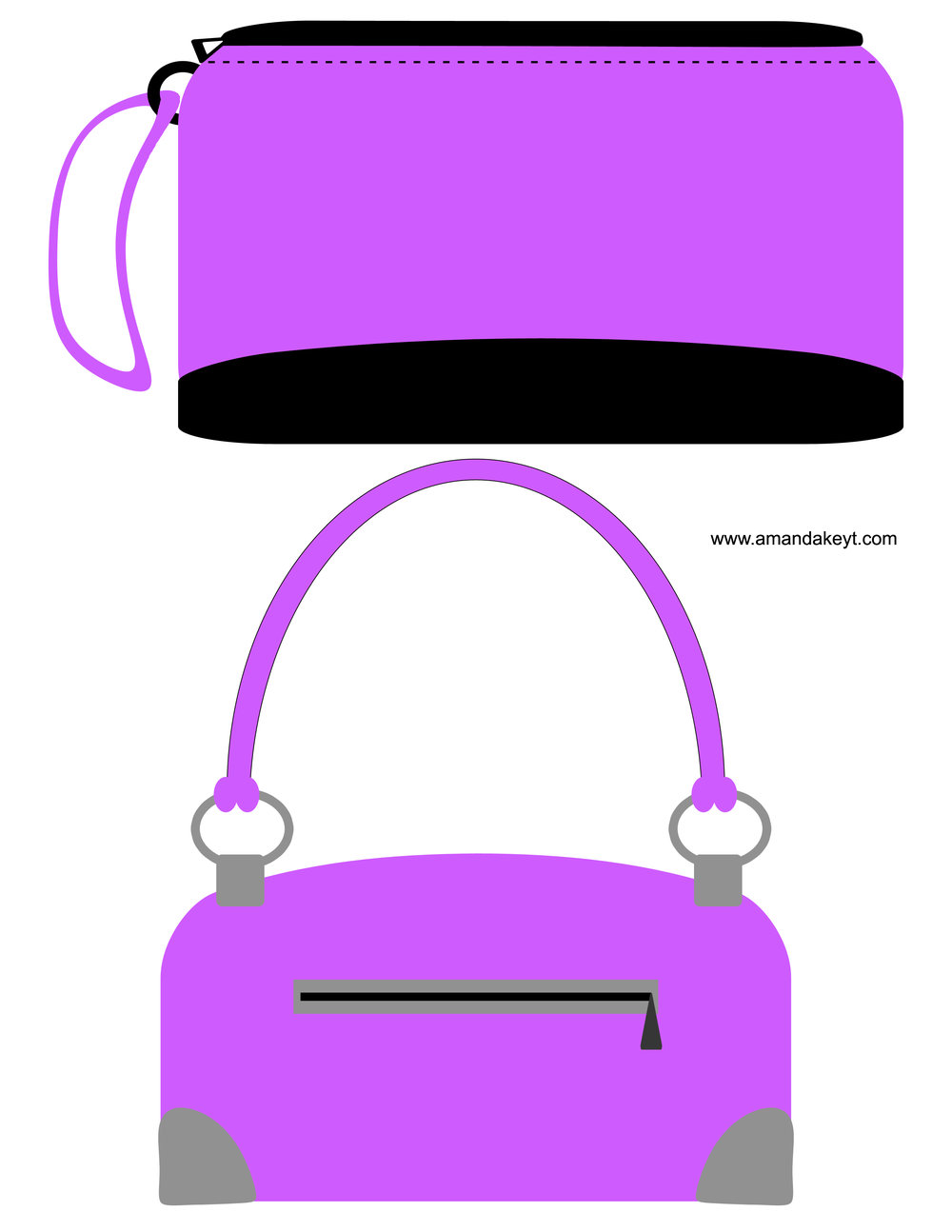 Purple Fashioista