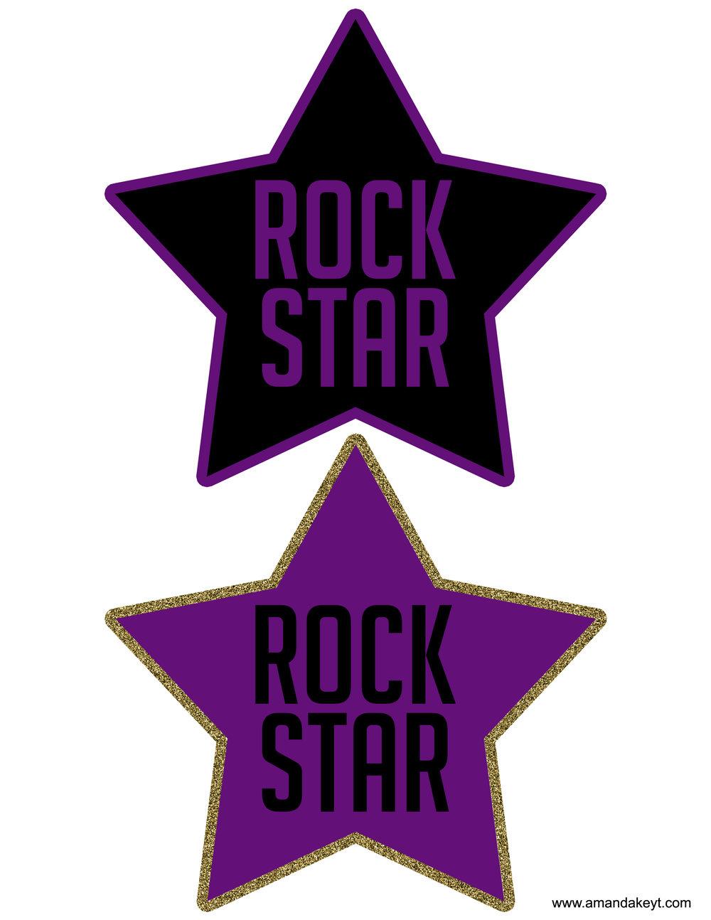 Purple Rock Star