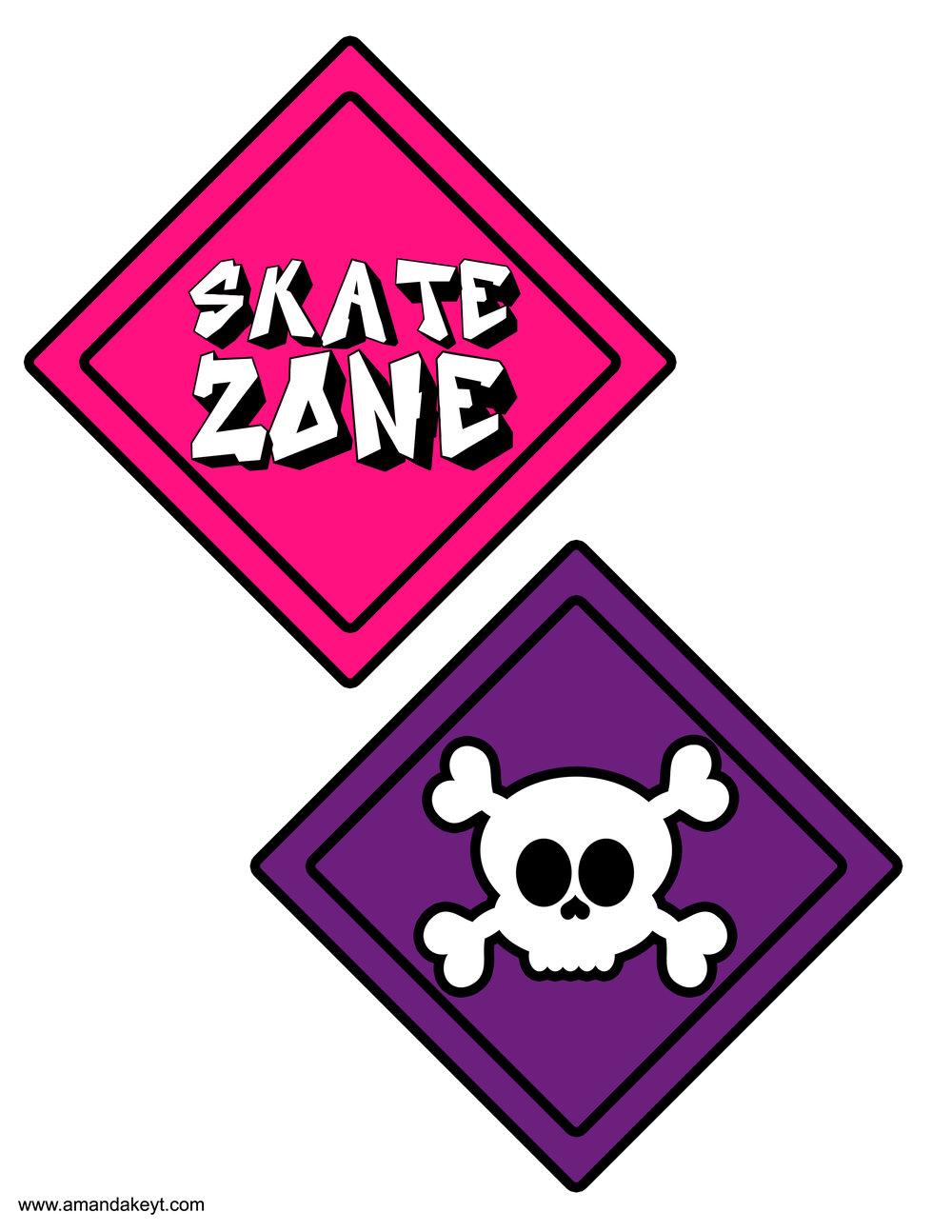 Pink Skate Board
