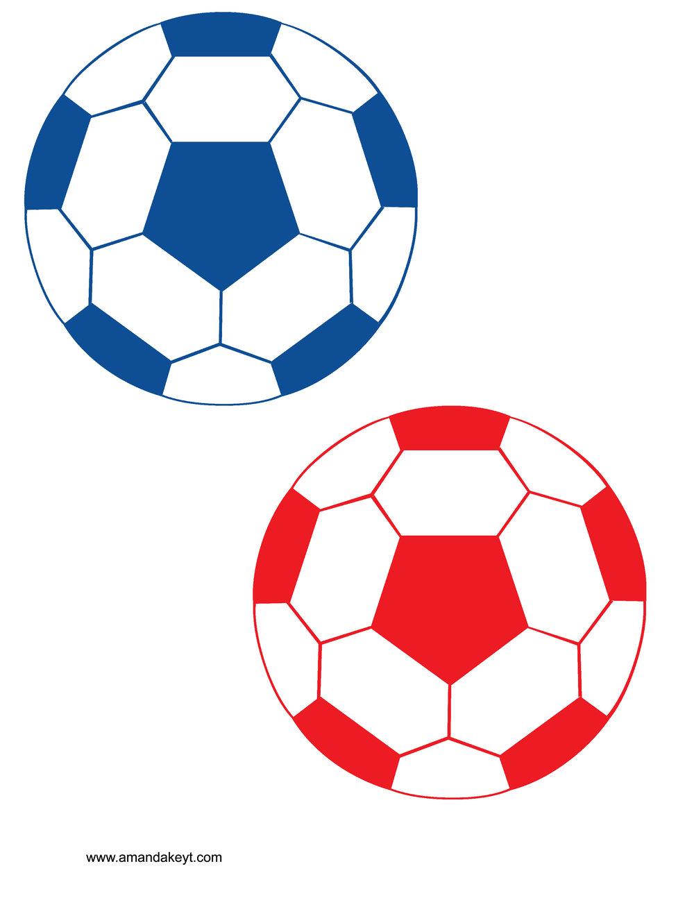 Red Blue Soccer