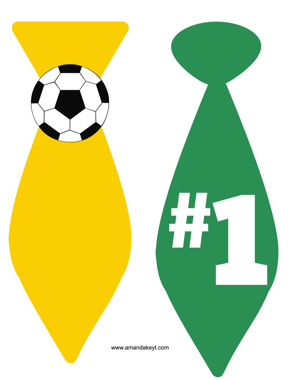 Yellow Green Soccer