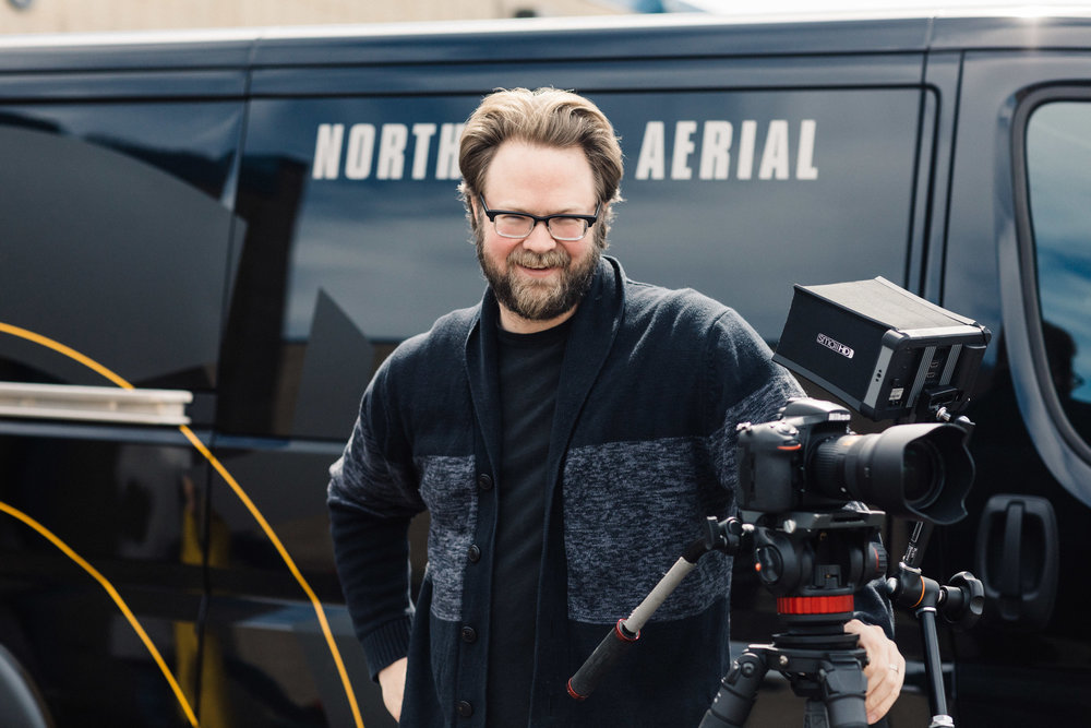 Ryan Siemers Director of Photography, Editor, Motion Graphics, Colorist Think X-Men's Charles Xavier