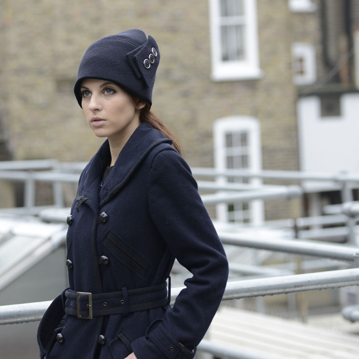 'Maddox' cloche hat