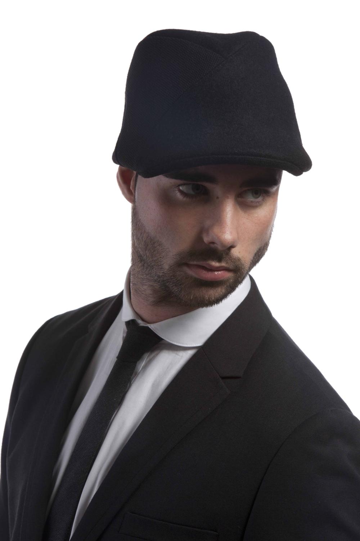 'Portland' flat cap