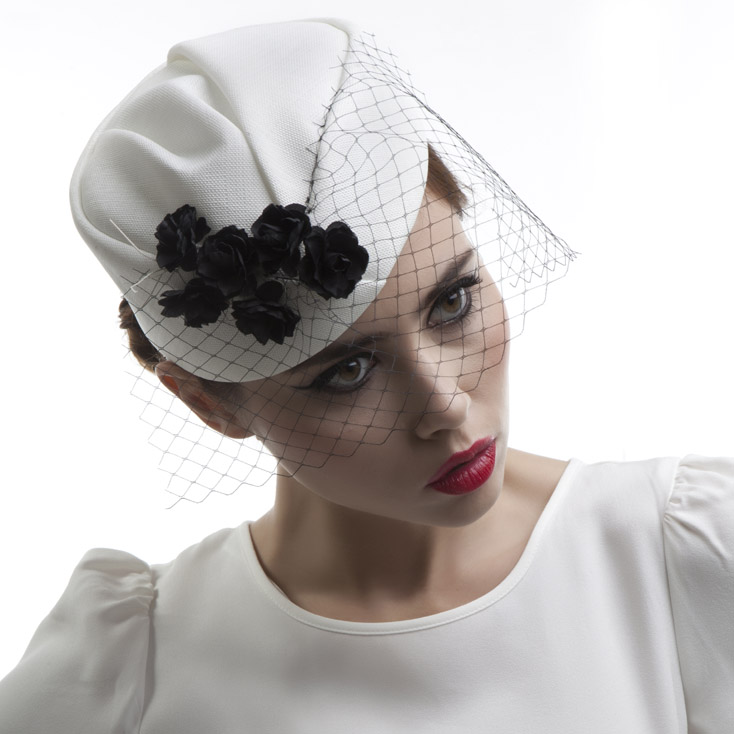 'Adelaide' pillbox hat