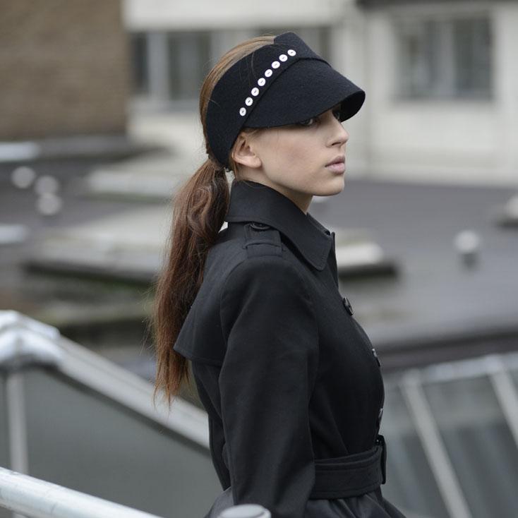 'Vera' headband/visor