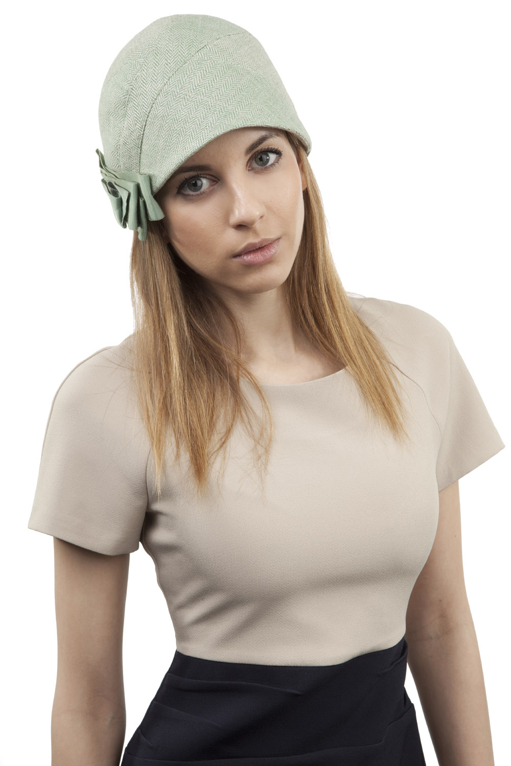 'Peppy' cloche hat