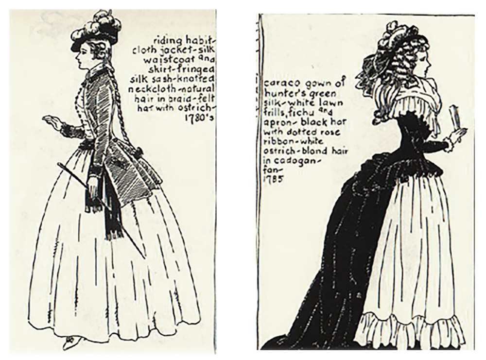 Late 18th Century fashion inspiration