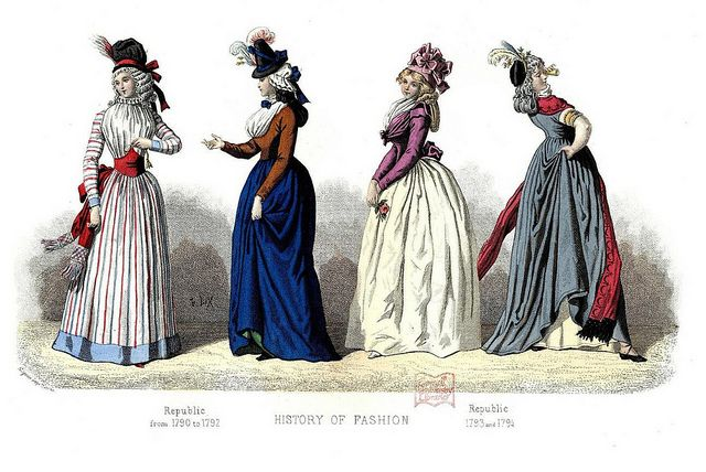 18th century fashion and headwear