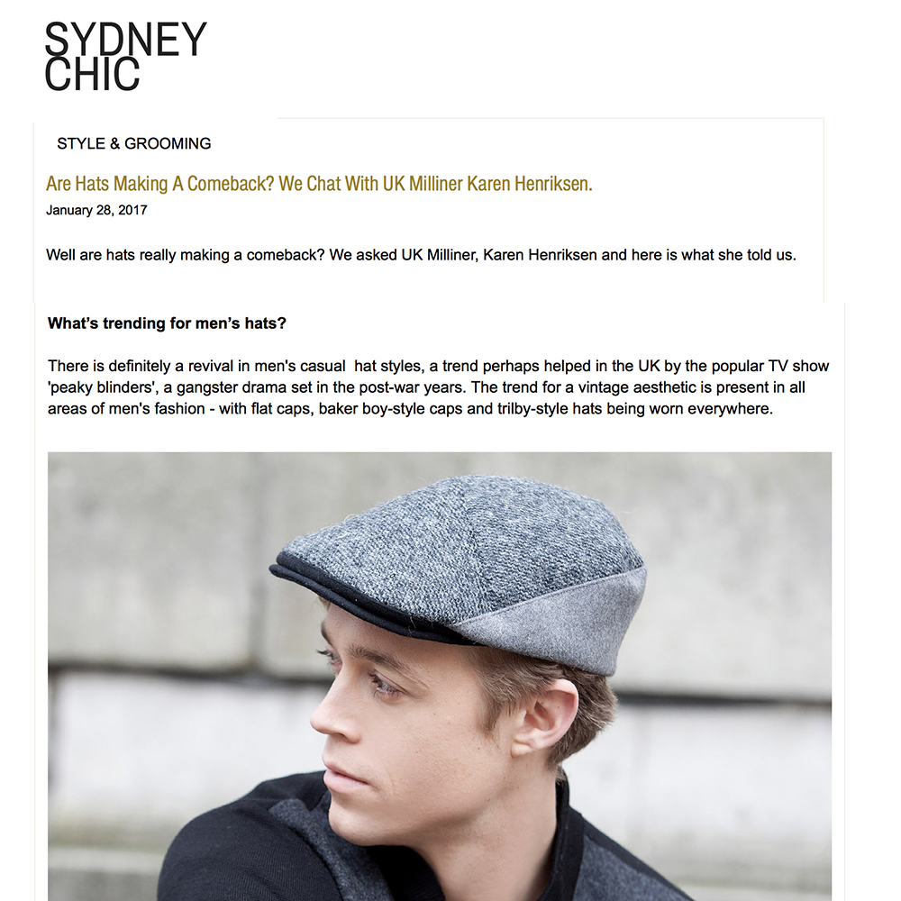 Sydney Chic blog feature