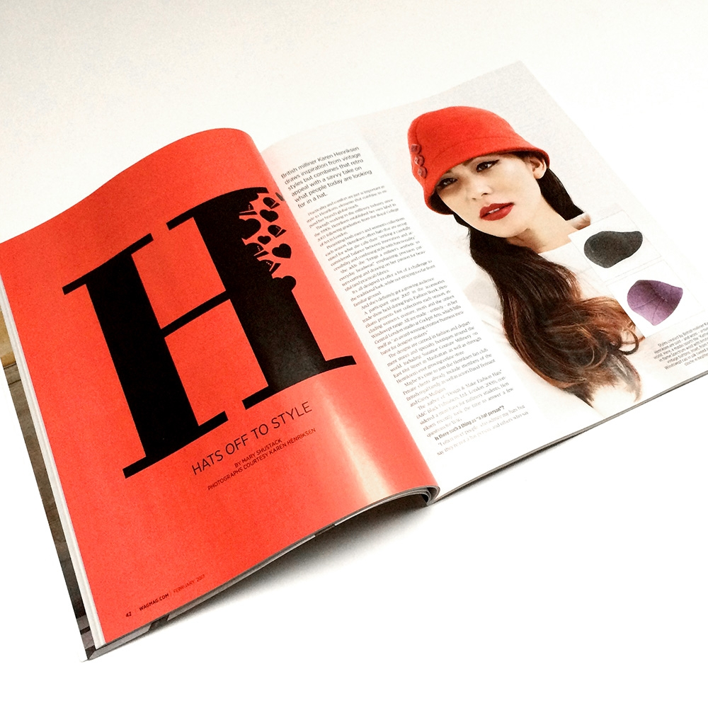 'Hats Off to Style' Feature