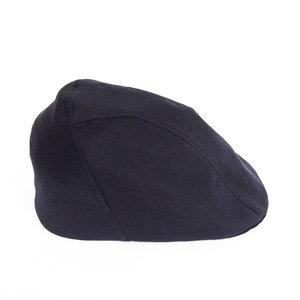 f2f2192f2e1 Wax Cotton Flat Cap for Men -  Clive  in Navy - By Karen Henriksen