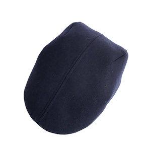 85f76fa4257 Shetland Wool Flat Cap for Men -  Otley  in Navy Twill - By Karen