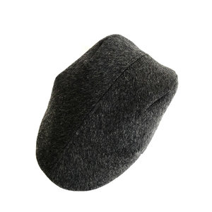 ca950852a71 Wool Cashmere Flat Cap for Men -  Otley  in Brushed Charcoal - By