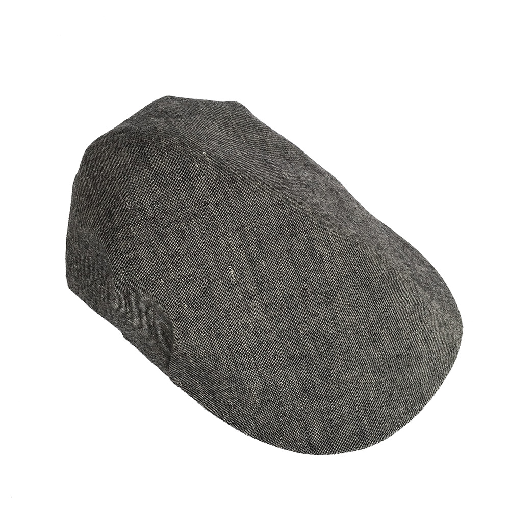 Skipton in charcoal Irish linen