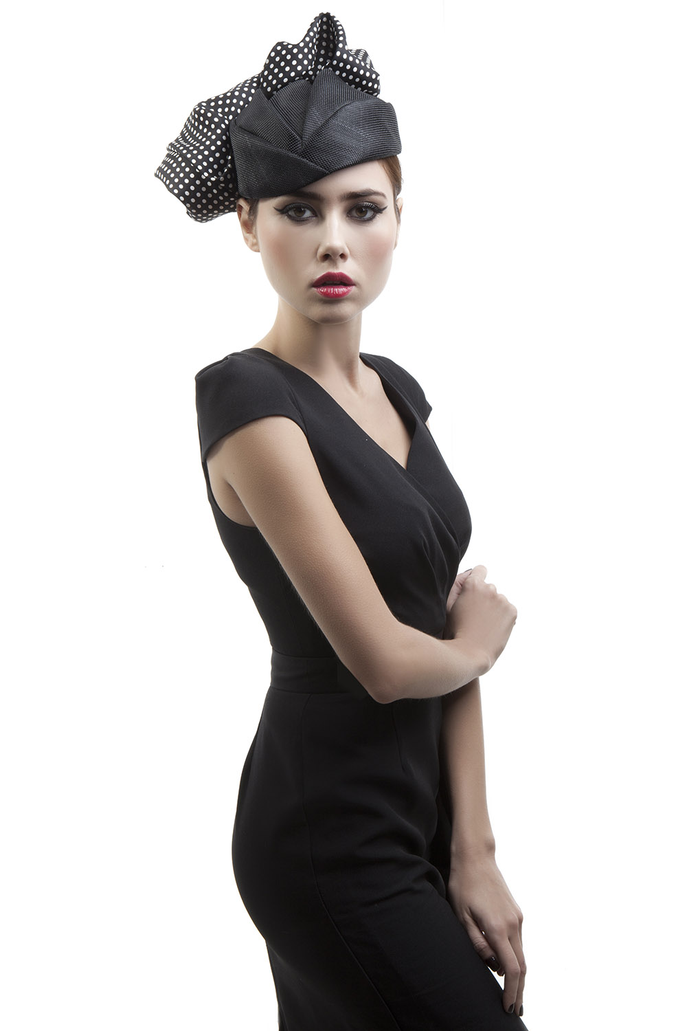 'Peggy' pillbox hat