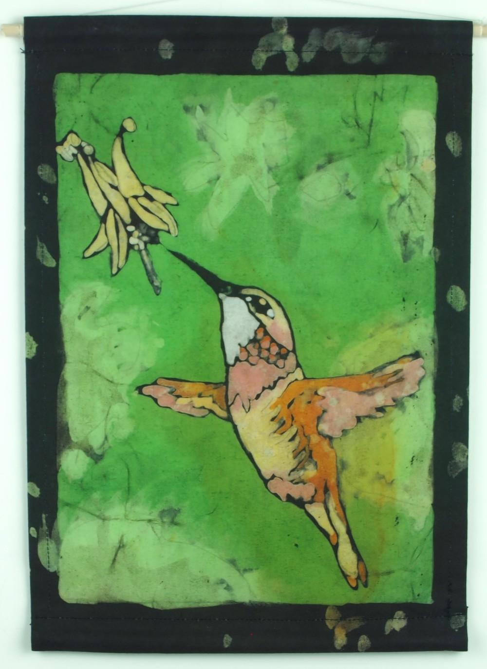 hummingbird-garden-batik notion.JPG