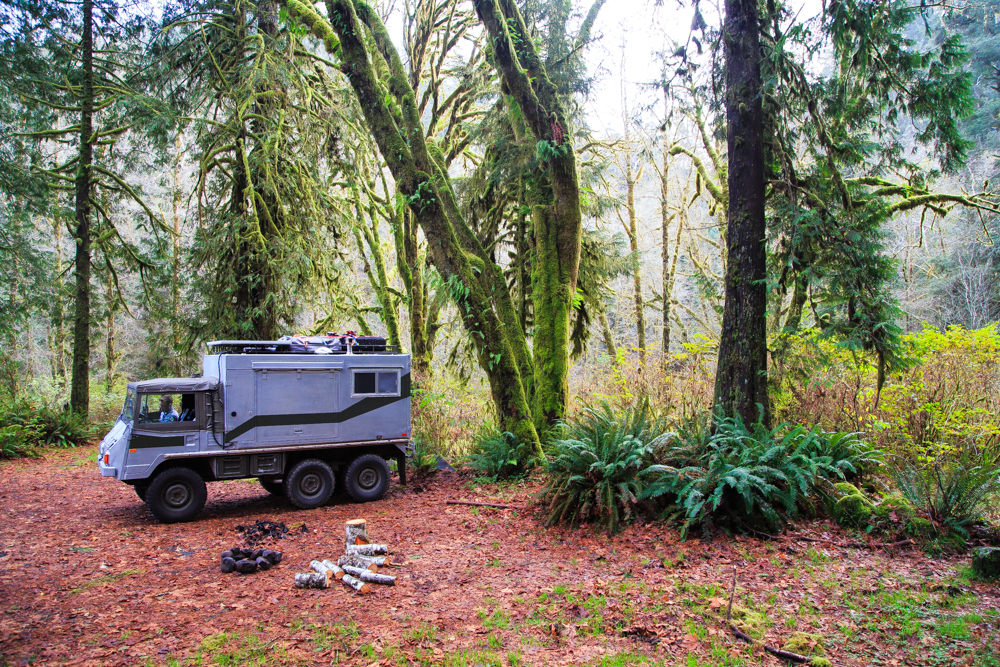 One of our best free campsites to date…thanks to some intel from a National Forest Ranger.