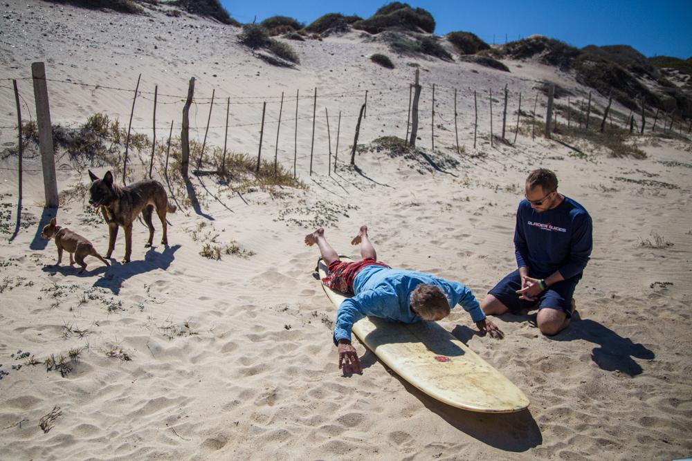 Surfing 101.