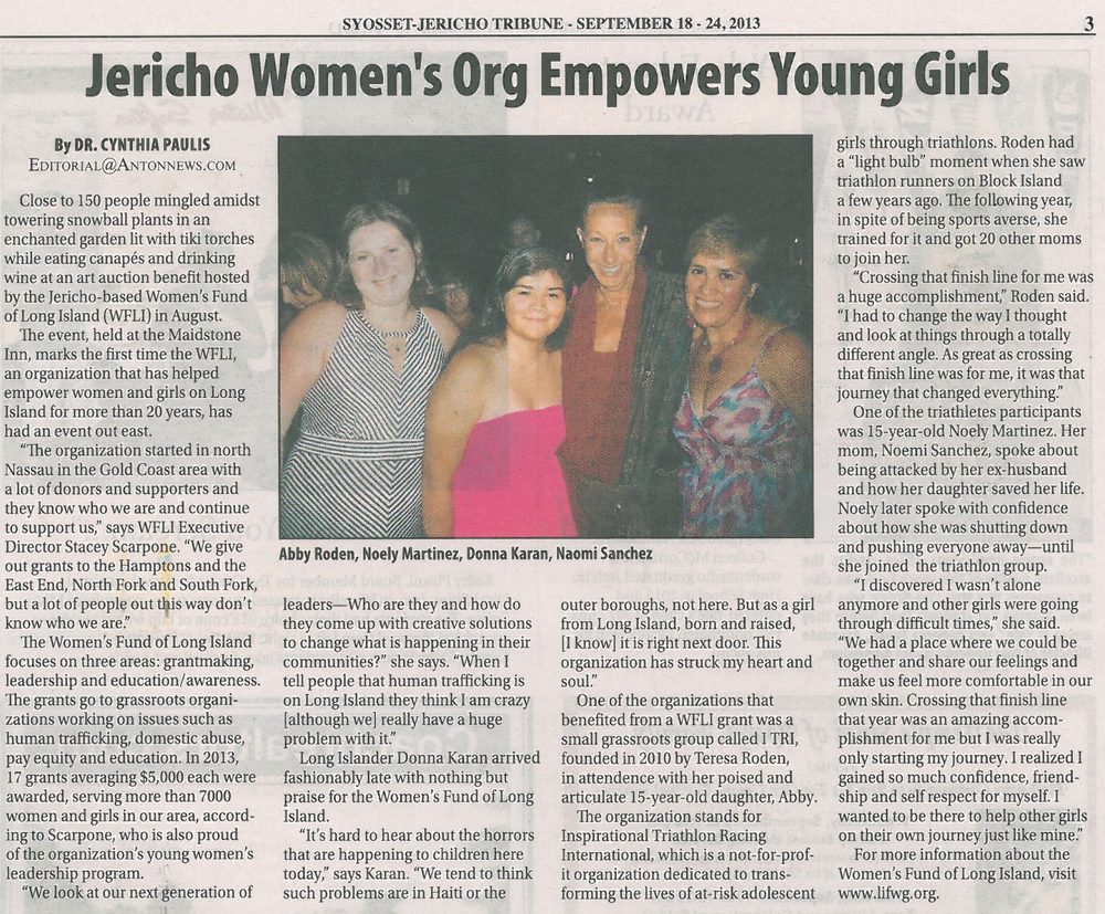 2 Jericho Womens Org Empowers Young Girls 9.20.13.jpg