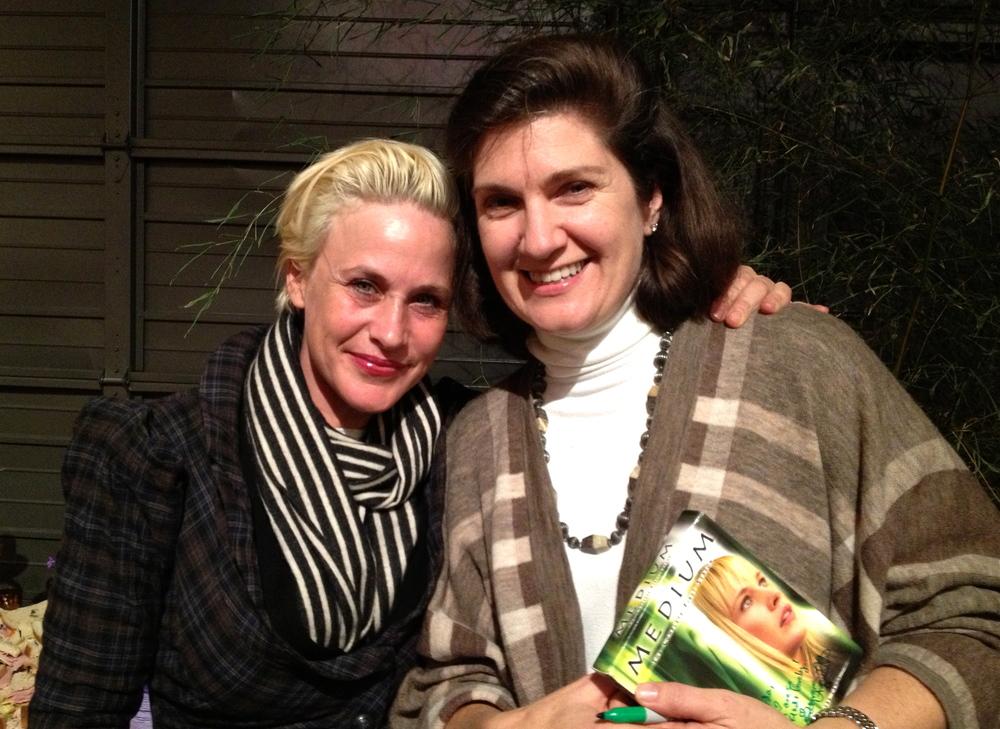 Patricia Arquette and Arda Nazerian