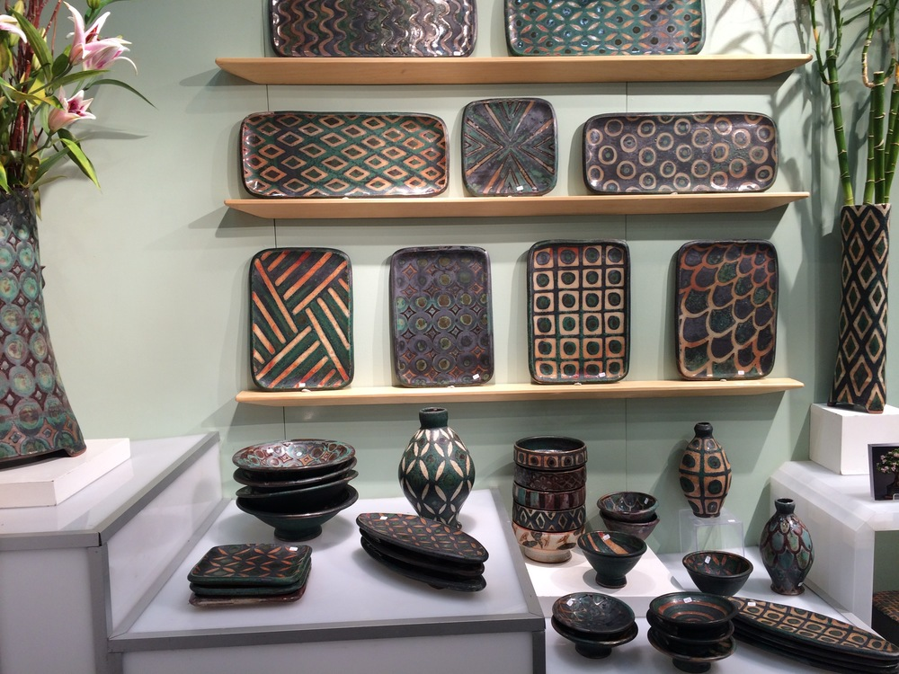 Pottery by Peter Karner, of Boulder, Colorado -  http://www.peterkarnerpottery.net/Home.html