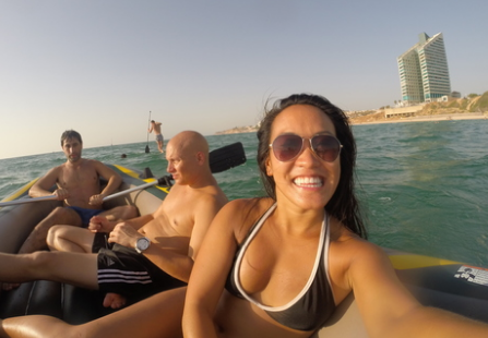Offir Swisa - From Tel Aviv, IsraelMet in Tel Aviv, Israel as a couchsurferAndrea stayed with us for 3 days. She's an amazing guest, funny and you'll never get board when she is around trust me :)moreover she wrote about us in her awesome blog, #livingthedrea.