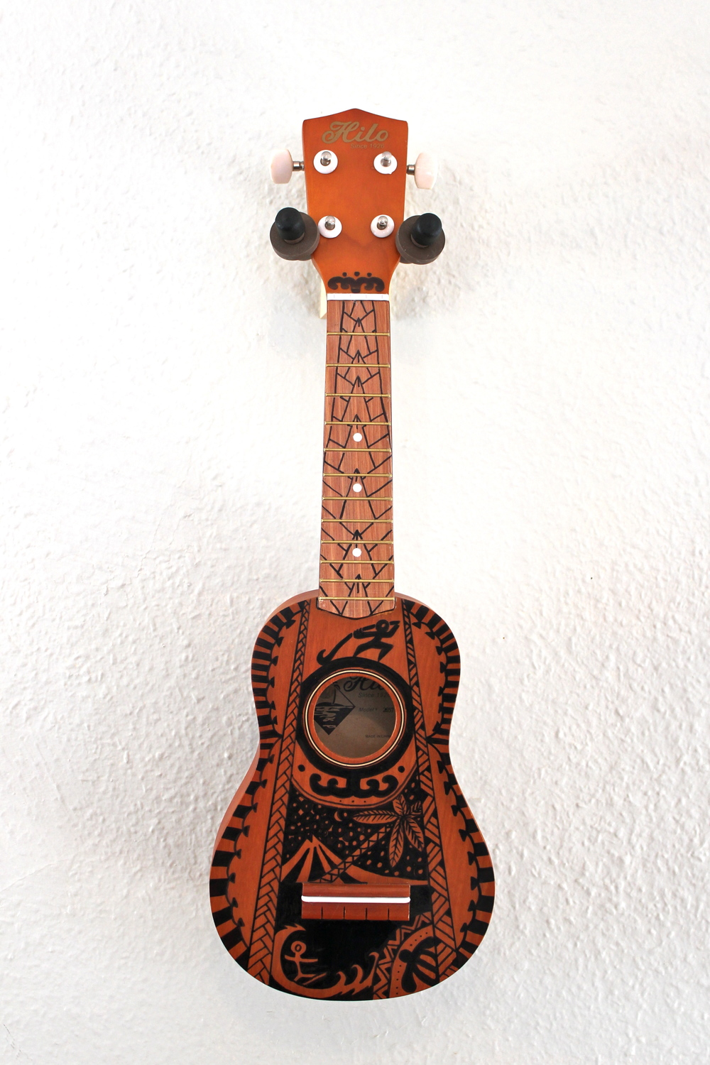 Hawaii Polynesian Tattoo Ukulele