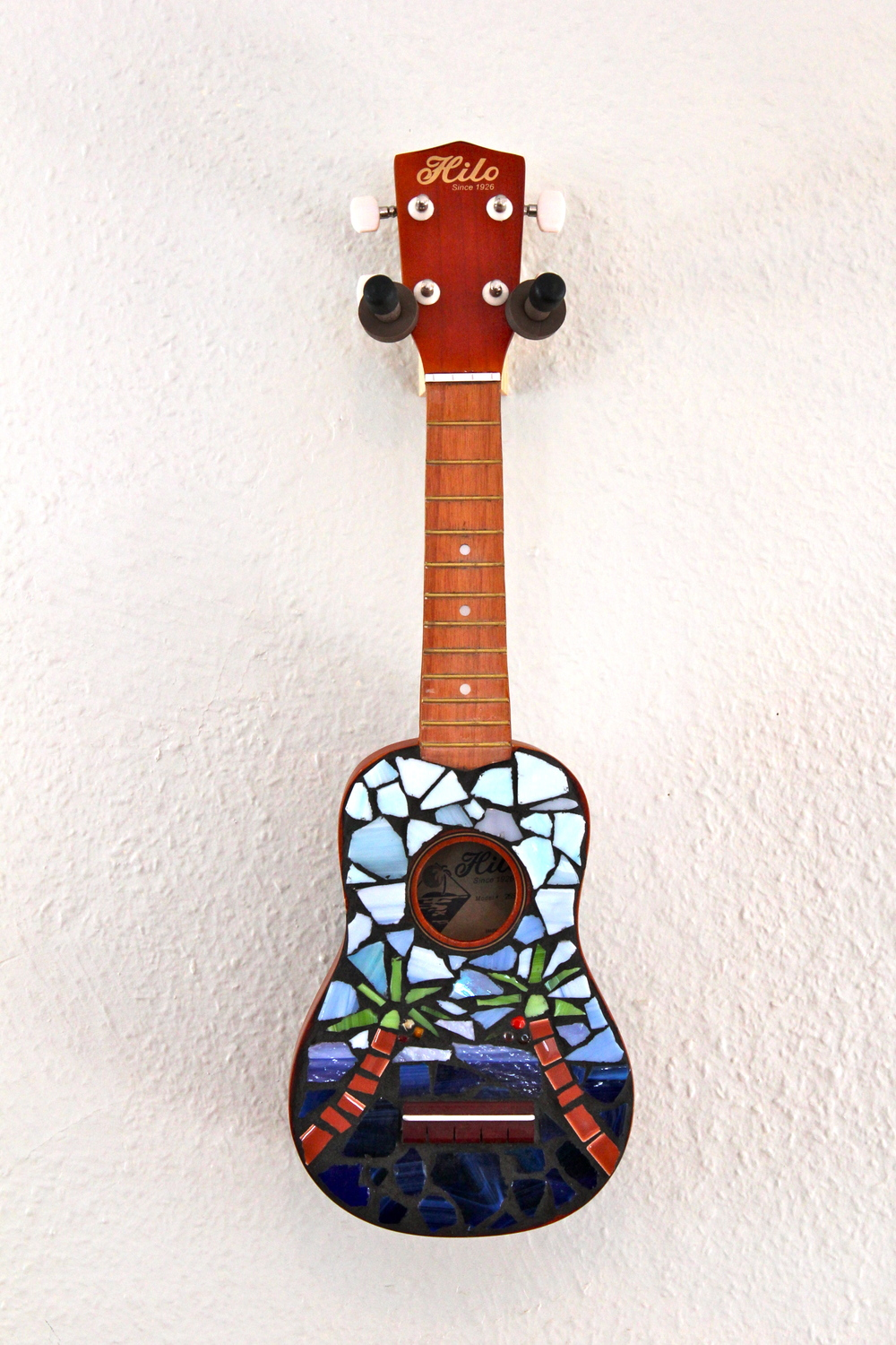 Hawaii Palm Tree Mosaic Ukulele
