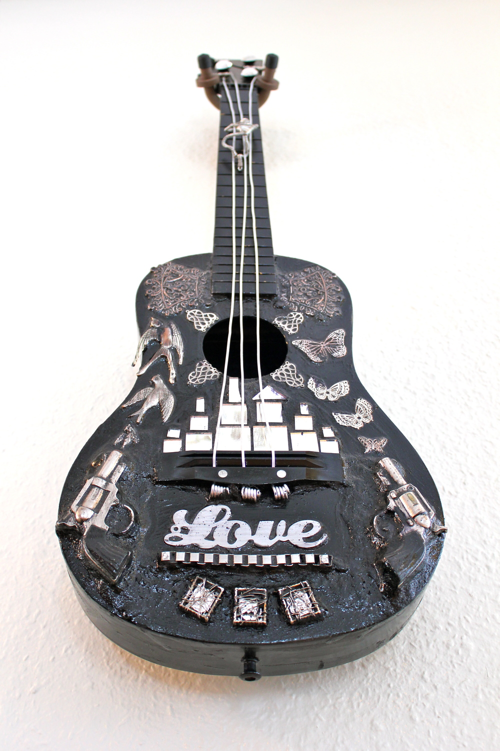 Guitar Art Wall Hanging