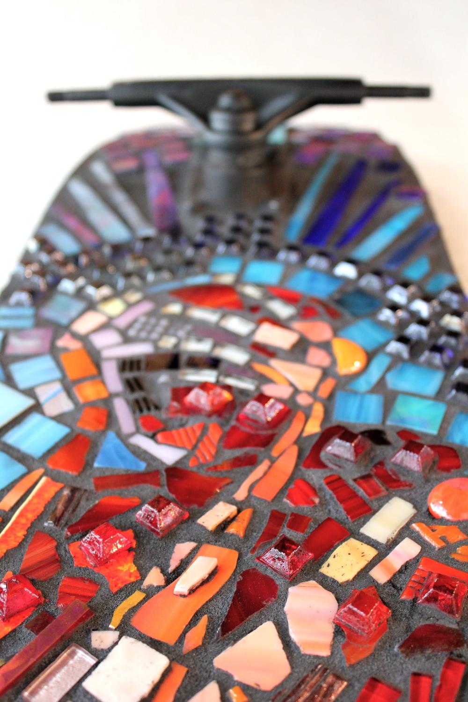 Skateboard Mosaic