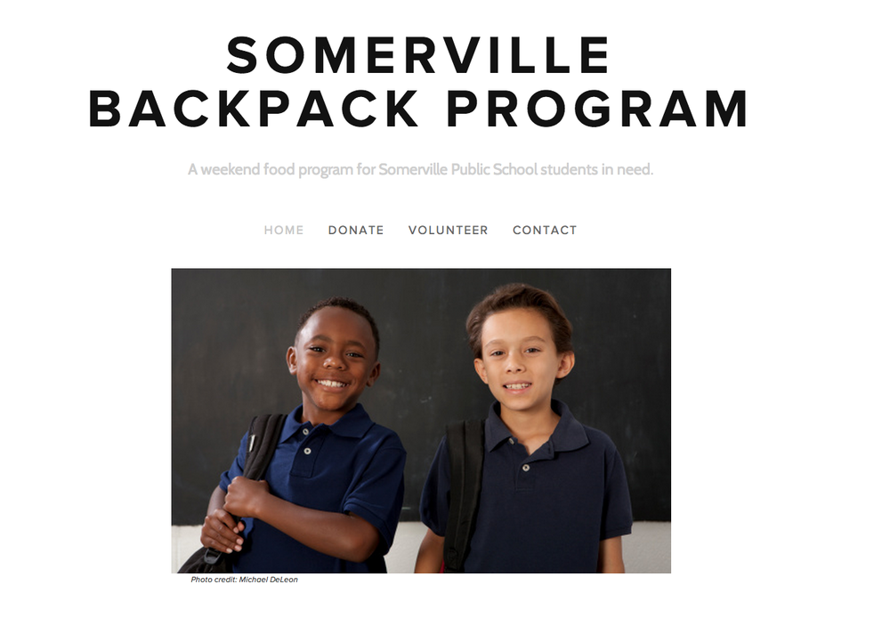 Somerville Backpack Program reduces food insecurity for Students in Somerville, MA