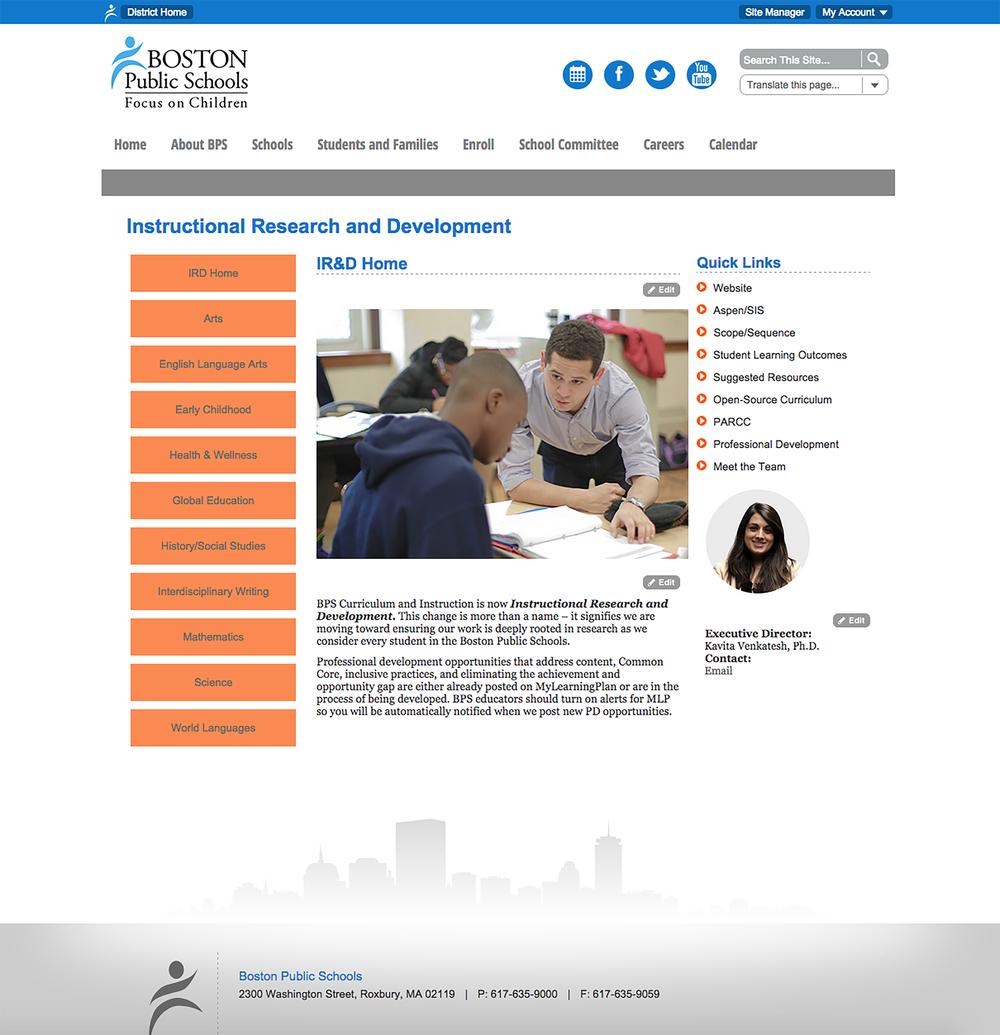 BostonPublicSchools/IRD