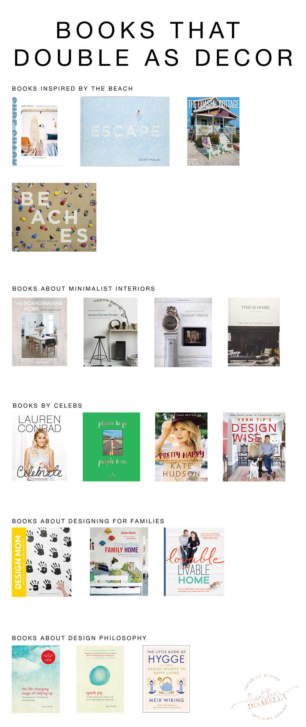 Design Books that Double as Decor