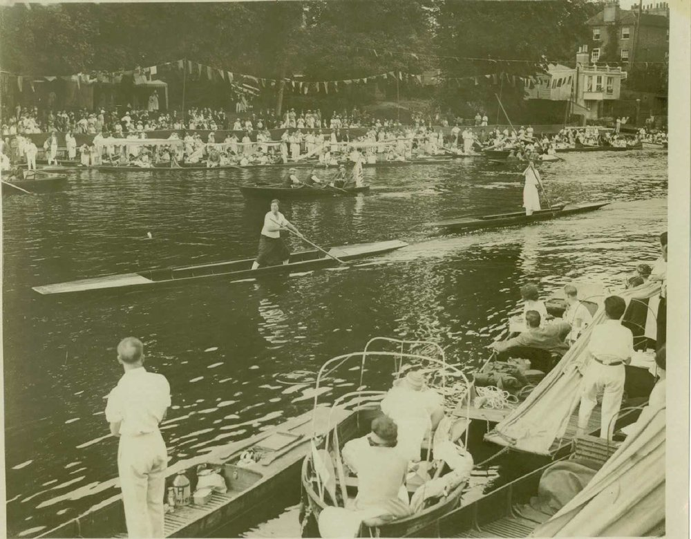 Ladies Single Punts 1923.JPG