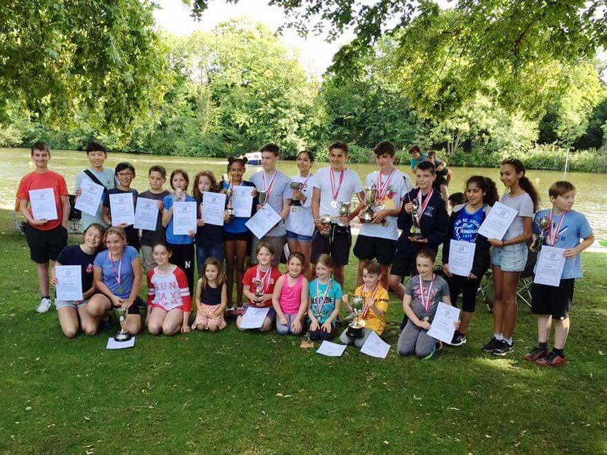 Edith Topsfield Junior Regatta Winners 2017 -