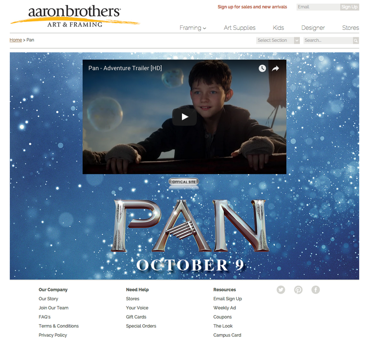 Aaron Brothers & Pan — zakHill Group