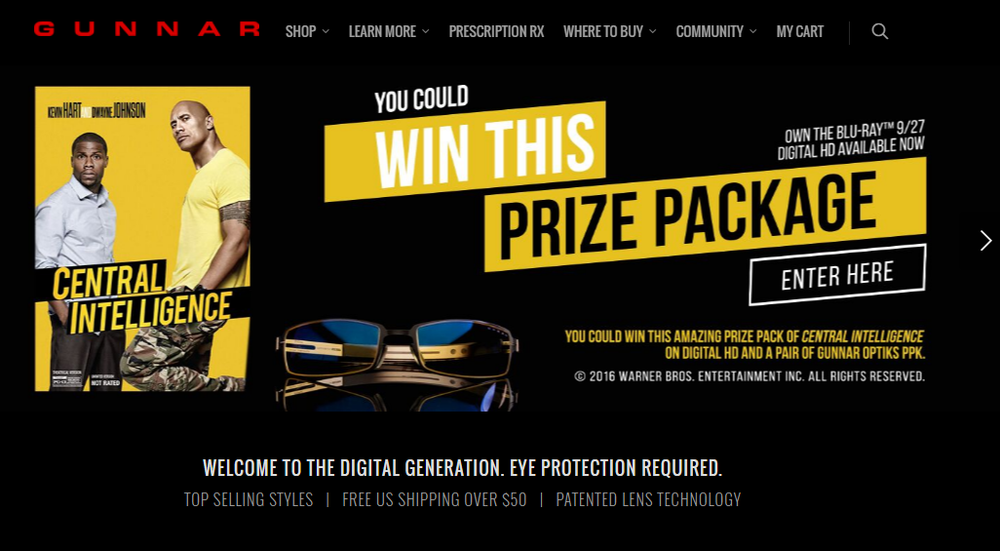 9.30_Gunnar Optiks_Central Intel_Homepage.png
