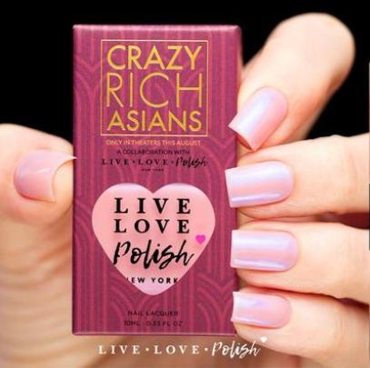 Live Love Polish x Crazy Rich Asians