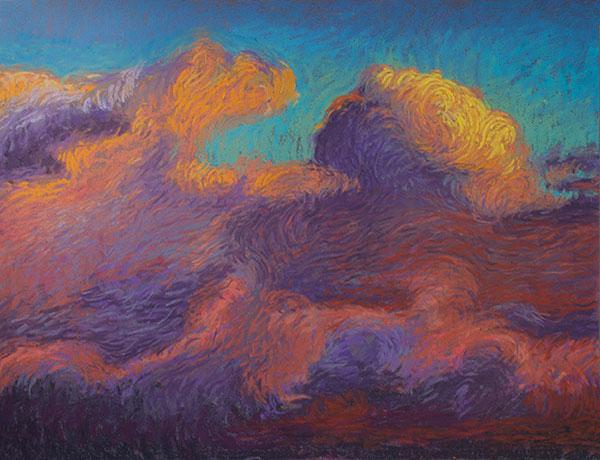 A Cloud Symphony, Pastel