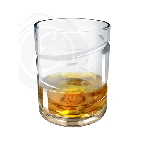 HELIX WHISKEY SPIN GLASS