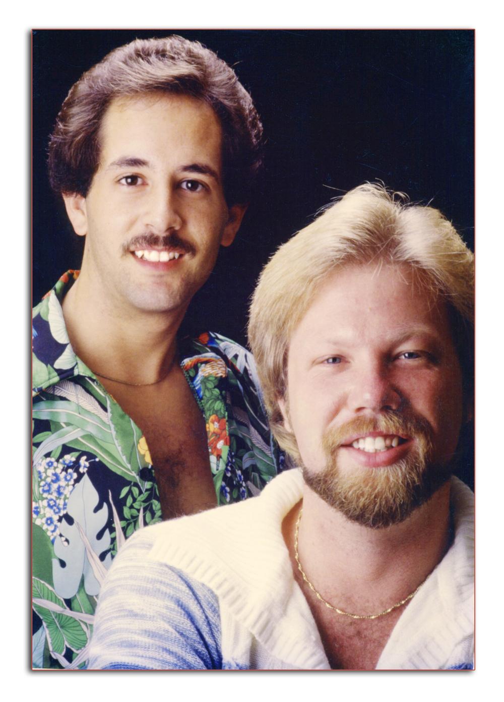 Tom and Darren. 1976.