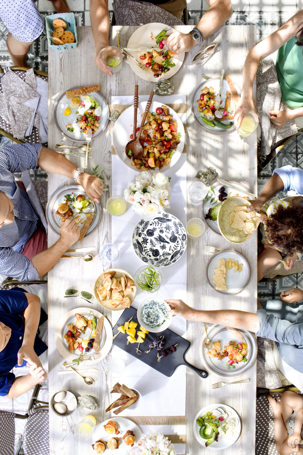 Nate Berkus Summer Party-Table