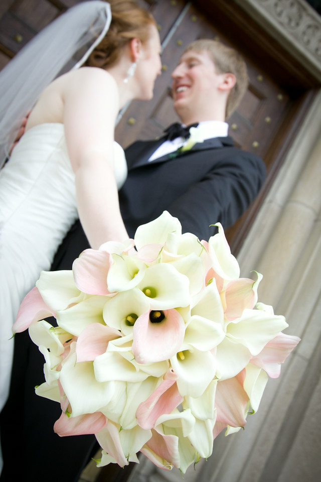 Sarah & Dan   Wedding Venue: Ascension Catholic Church  Reception Venue:  Union League Club   Photographer:  ME Photography   Decor:  Westgate Flowers   Planning:  Malenia Events